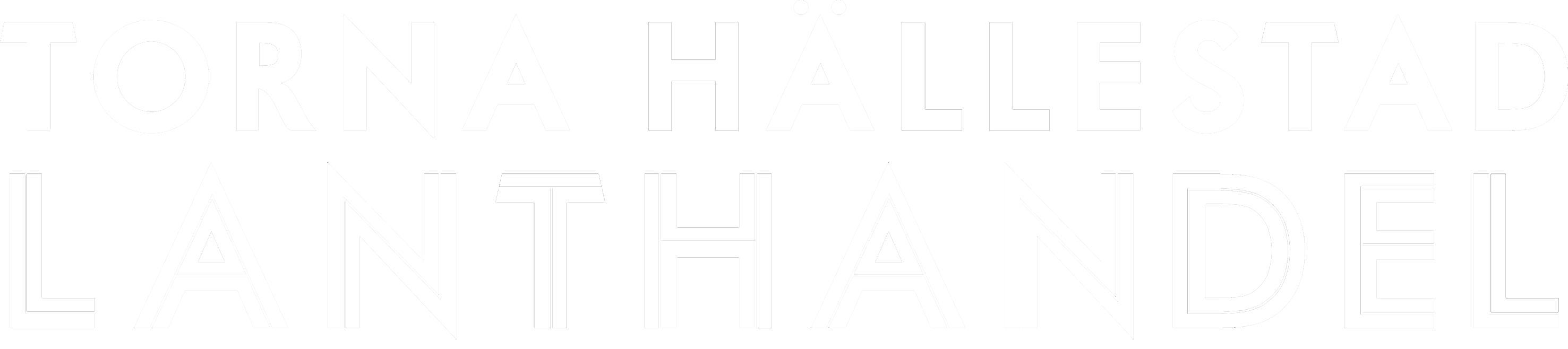 Torna Hällestad Lanthandel Logo