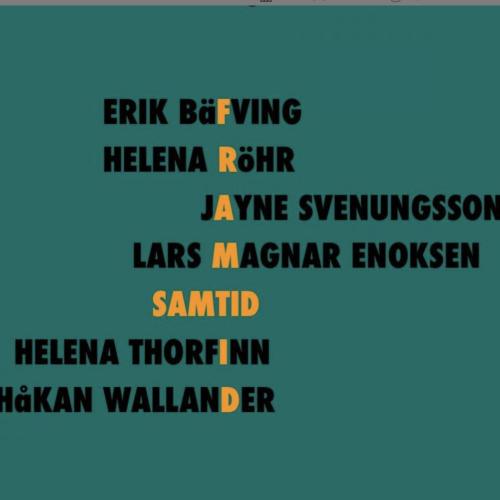 Samtalskväll med Per-Anders Rudelius & Erik Bäfving